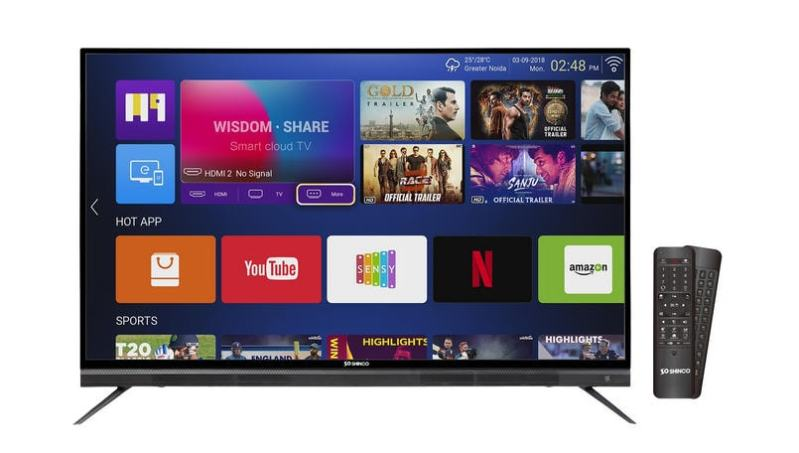 Shinco Smart LED TV series prices drop by up to Rs 5,000 as part of the Amazon Freedom Sale