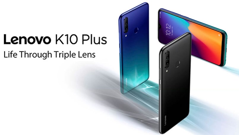 Lenovo K10 Plus with Snapdragon 632 and 4,050mAh battery launched in India