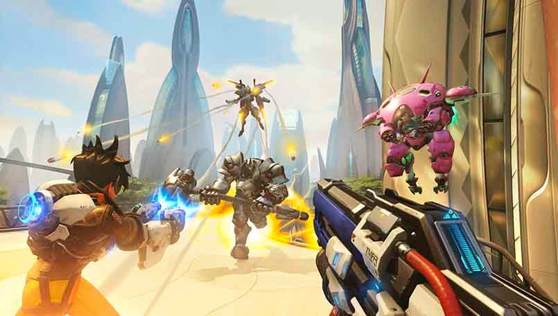 Overwatch is coming to Nintendo Switch on October 15