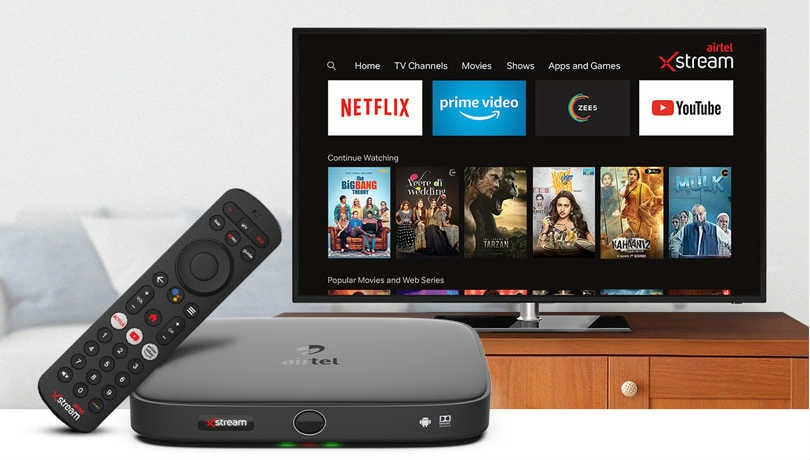 Airtel Xstream Box now available at Rs 2,249 ahead of Tata Sky Binge+ launch
