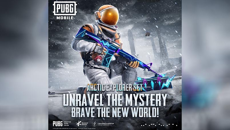 PUBG Mobile brings Arctic Explorer set to the Lucky Spin