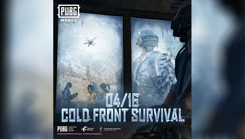 PUBG Mobile to bring a new mode called Cold Front Survival on April 16