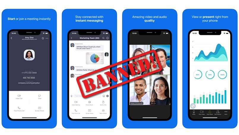Google bans Zoom for all its employees because it does not meet 'security standards'