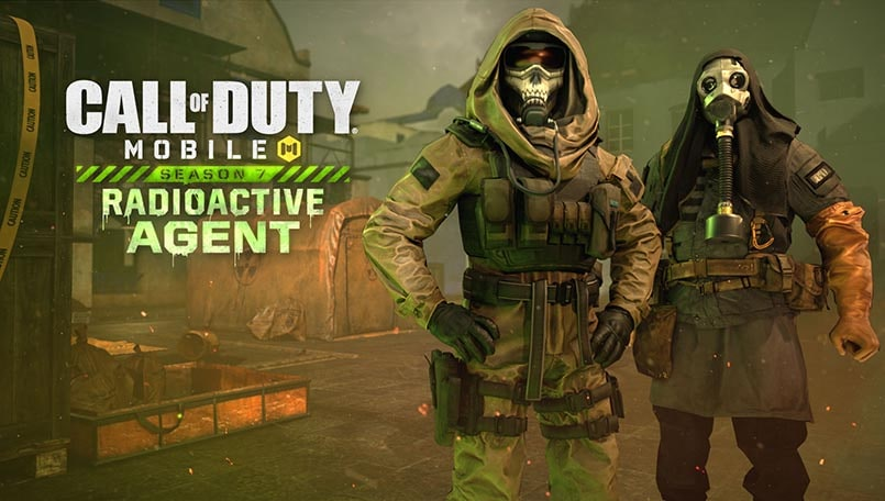 Call of Duty: Mobile Season 7 Radioactive Agent is live