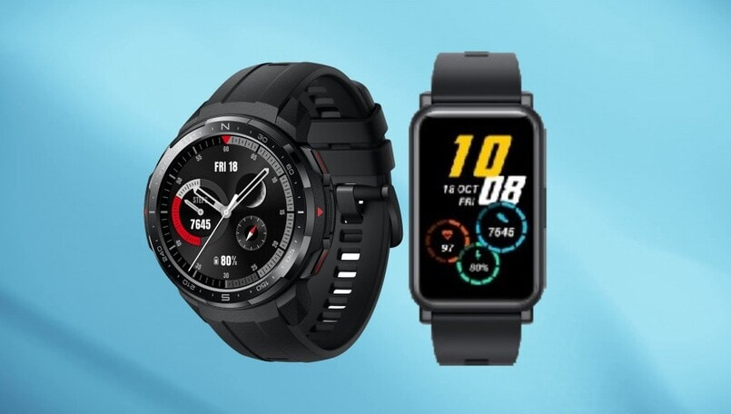 Honor Watch GS Pro and Watch ES teased, could launch in India on October 8