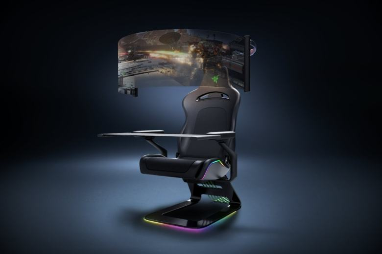 Razer smart face mask and gaming chair showcased at CES 2021