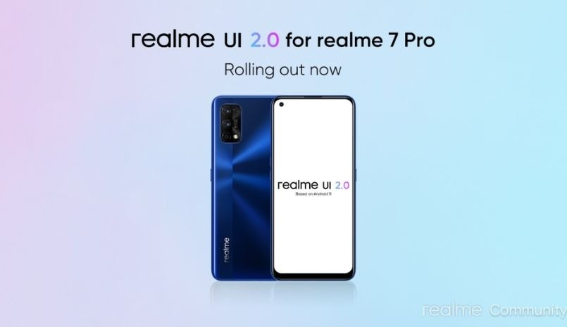 realme 7 pro, realme 6 pro, realme 7 pro realme 6 pro android 11 update, realme ui 2.0 rollout india, realme ui 2.0 changelog, realme ui 2.0 update details, realme, realme ui 2 0, android 11