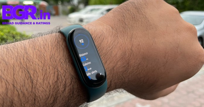 Xiaomi, Xiaomi Mi Band 6, Mi Band 6, Mi Band 6 Price in India, Mi Band 6 First Imporessions, Mi Band 6 review, Mi Band 6 first look, Mi Band 6 initial impression, Mi Band 6 hands on, Mi Band 6 Quick Review, Mi Band 6 Specification, Mi Band 6 Specification, Mi Band 6 Feature