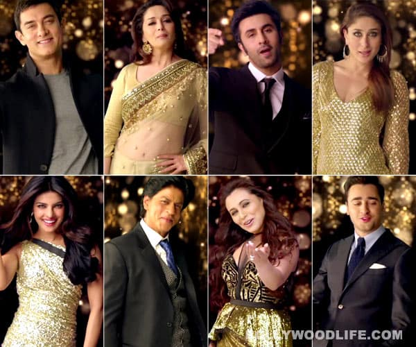 Apna Bombay Talkies song: Shahrukh Khan, Aamir Khan, Akshay Kumar, Madhuri Dixit among a medley of stars celebrating Indian cinema!