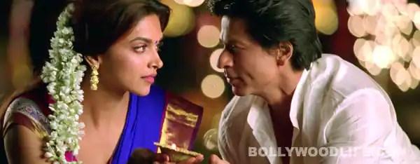 Chennai Express song Titli: Deepika Padukone and Shahrukh Khan getmushy!