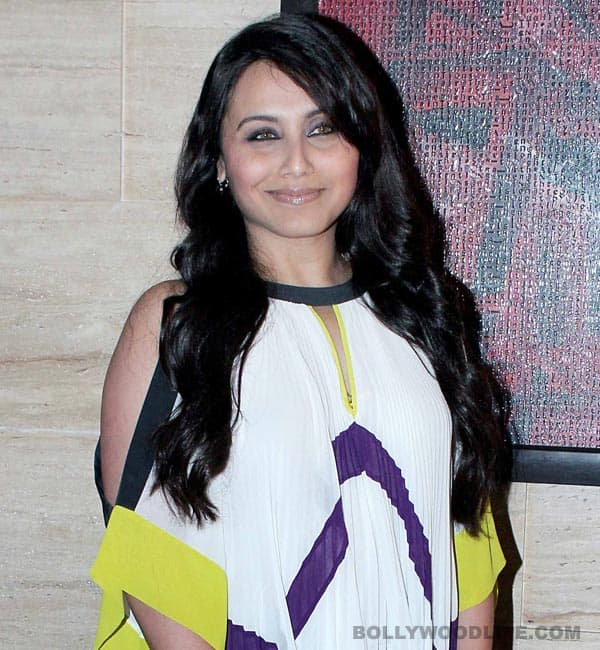 Did Rani Mukerji's high-handed behaviour lose her the Mary Kom biopic?