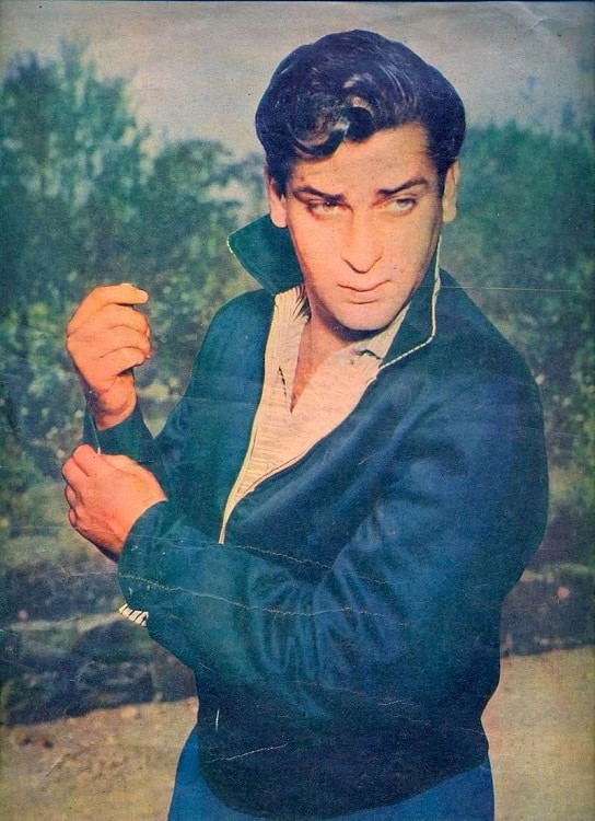 Image result for shammi kapoor young