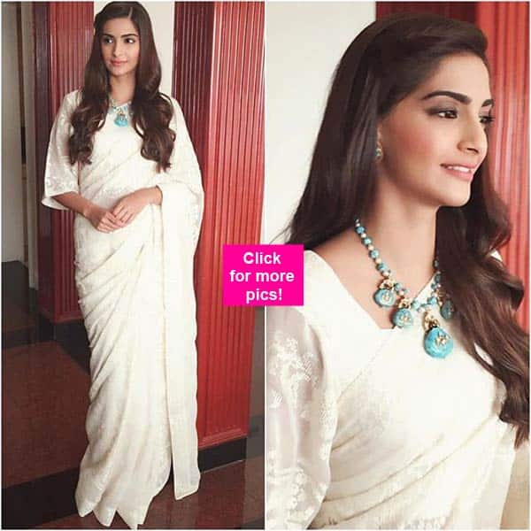 Sonam Kapoor Goes Ethnic And Chic For Prem Ratan Dhan Payo