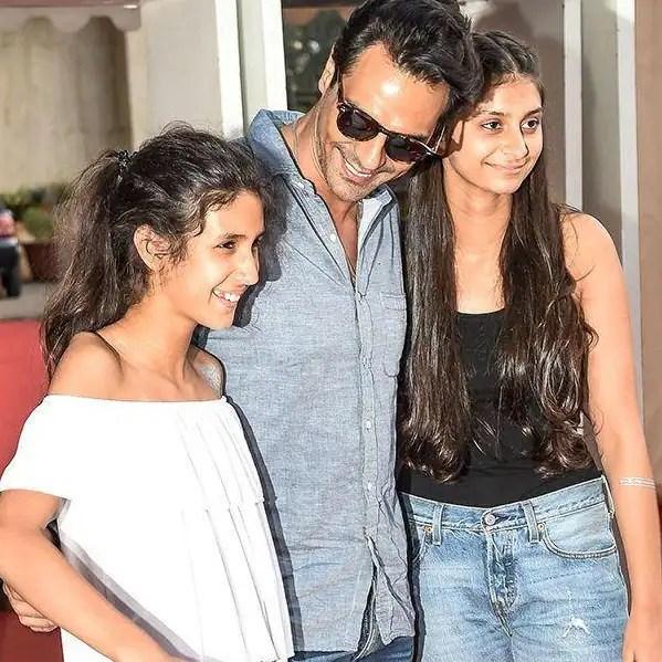 Image result for arjun rampal daughters