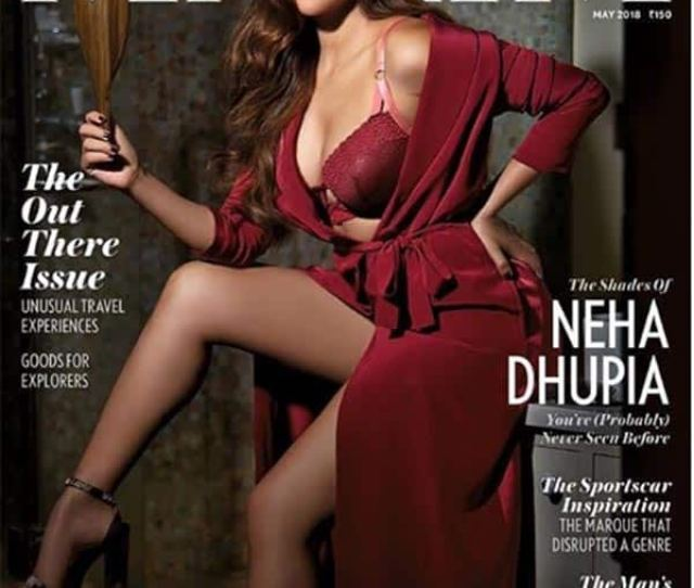 Newlywed Neha Dhupia Looks Piping Hot In Her New Photoshoot For A Fashion Magazine