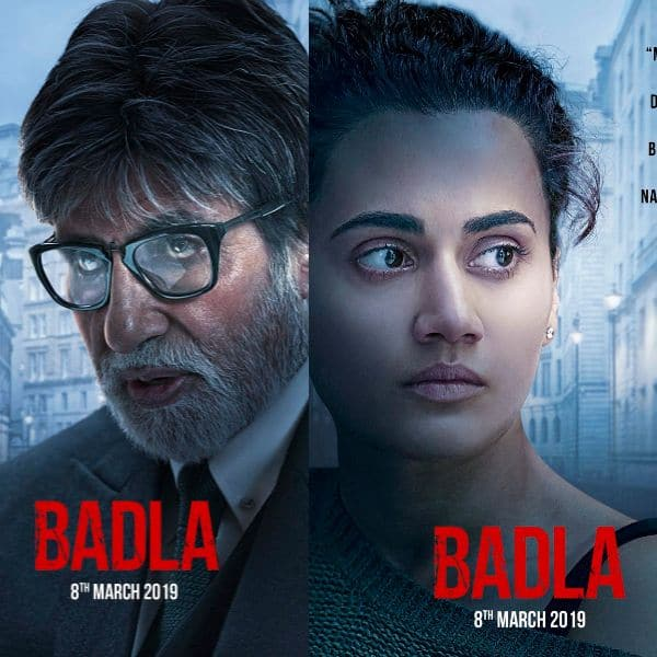 Badla movie review: Bollywood directors call Amitabh Bachchan and Taapsee Pannu's film 'A Must Watch'