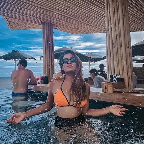 Pryanca Talukdar in bikini