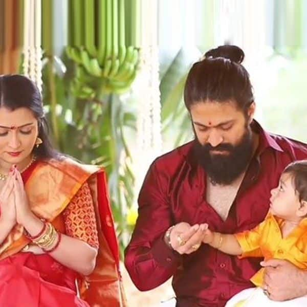 KGF actor Yash and wife Radhika Pandit reveal their second child's name through cute video