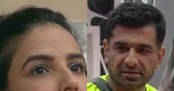 Jasmin Bhasin comments on Eijaz Khan's acting skills; says, 'Aap bahut hi ache actor ho'