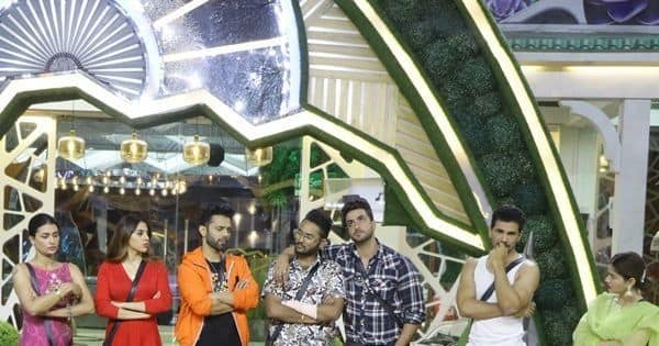 Contestants get into argument with Rahul Vaidya on how one of the boxes was lifted in the middle of the task