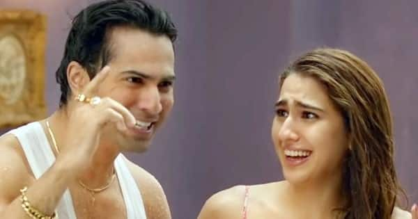 Varun Dhawan and Sara Ali Khan's super chemistry and music make the first glimpse an interesting watch
