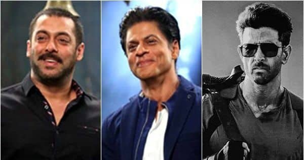Say what! Shah Rukh Khan aka Pathan and Salman Khan aka Tiger to join Hrithik Roshan in War sequel?
