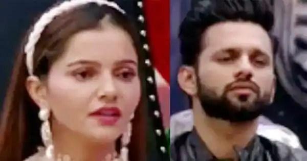Rubina Dilaik tags Rahul Vaidya as 'Manthara' who creates differences between Jasmin and her
