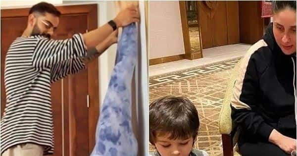 From preggers Anushka Sharma's headstand to Taimur turning into a chef, these 5 moments kept social media buzzing