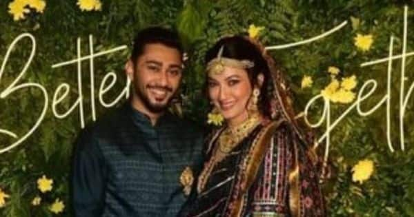 Gauahar Khan and Zaid Darbar join Ismail Darbar as the trio sings Tadap Tadap from Hum Dil De Chuke Sanam at their mehendi function — watch video