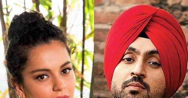 Diljit Dosanjh trends as netizens hail the actor for taking on Kangana Ranaut – see tweets and memes