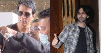 Kartik Aaryan and other celebs seen at Manish Malhotra's house party; Sonu Sood seen at the airport