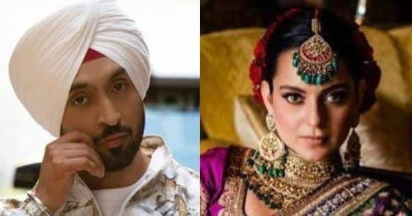 Diljit Dosanjh offers Kangana Ranaut a job of his PR manager and Twitter loses its shit laughing