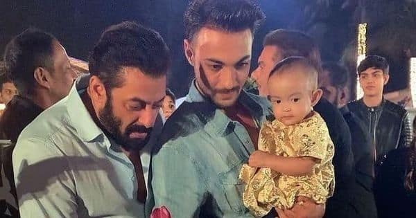 Salman Khan's niece, Ayat's first birthday cake, is nothing less than a work of art — view pic