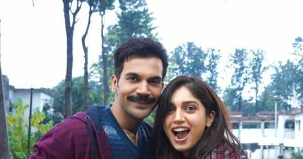 Bollywood News – Badhaai Do: Bhumi Pednekar and a mustached Rajkummar Rao ecstatic as Badhaai Ho sequel goes on floors