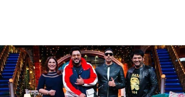 Badshah and Sukhbir turn the sets into a BHANGRA club with their Punjabi swag — view pics