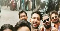 Bigg Boss 14 contestants Pavitra Punia, Jaan Kumar Sanu, Shardul Pandit and Naina Singh have a rocking reunion – view pic