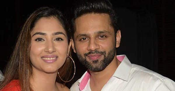 Disha Parmar loves her wedding caricatures with Rahul Vaidya; says, 'This just stole my heart'