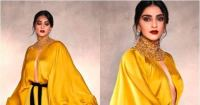 PICS: Sonam Kapoor stuns in a mustard gown proving why's she Bollywood's numero uno fashionista once again