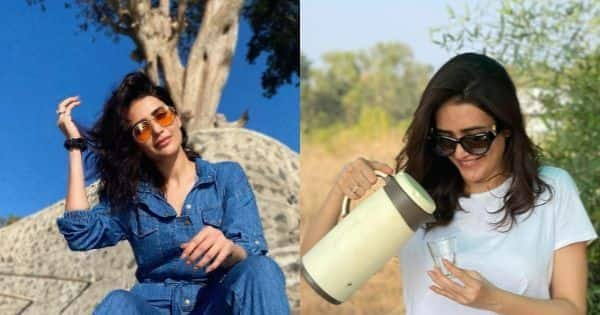 Karishma Tanna enjoys a wild escape in the Pench National Park — view pics