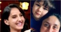 Nora Fatehi wants to get married to Taimur Ali Khan; Kareena Kapoor Khan reacts
