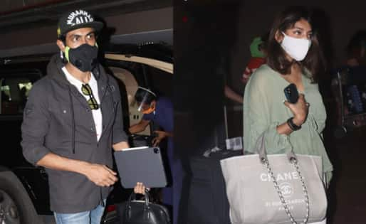 Rana Daggubati and Miheeka Bajaj snapped at Mumbai airport — view pics