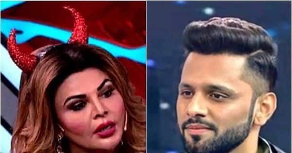 Rakhi Sawant calls Rahul Vaidya a sly; says, 'Ek taraf Nikki Tamboli ko pata raha hai, bahar Disha Parmar hai'