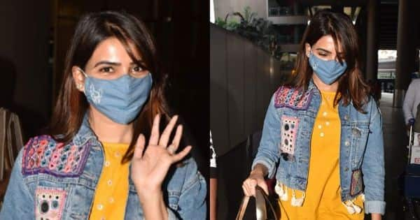 Samantha Akkineni lands in Mumbai looking all pretty – view pics