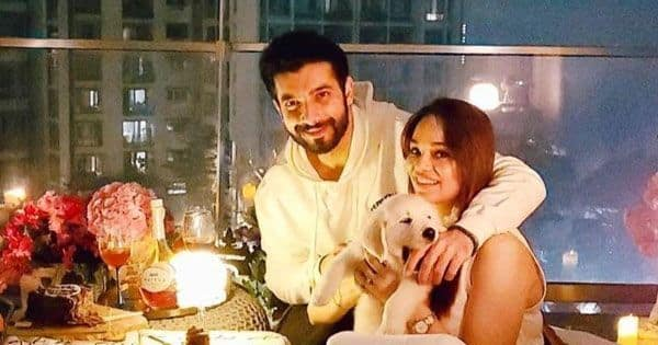 Naagin 5: Sharad Malhotra's wife Ripci and pet Leo look picture perfect in his cozy birthday celebrations — view pics