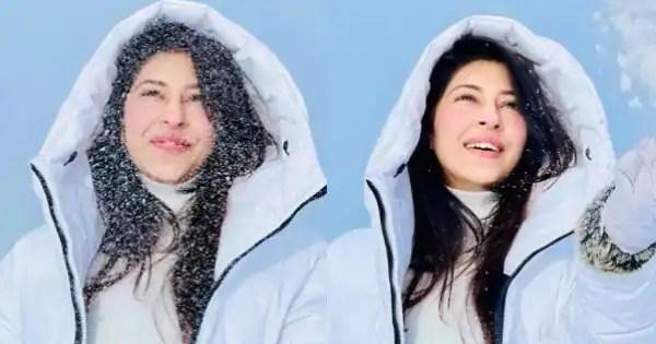 Devon Ke Dev Mahadev actress Sonarika Bhadoria enjoys her snowy day out – view pics