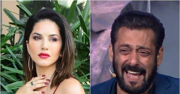 Sunny Leone has an AWKWARD moment with Salman Khan, but says, 'Bigg Boss home is all about fun'