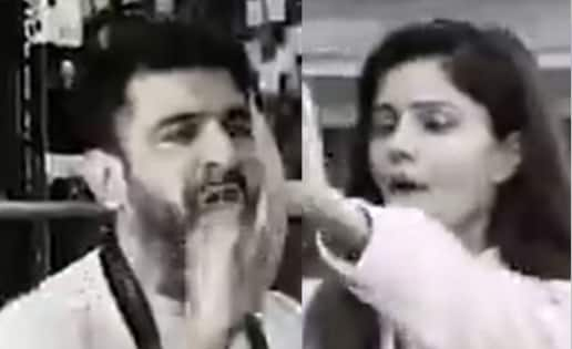 'Do not come close to my wife,' Abhinav Shukla charges at Eijaz Khan after an ugly food fight with Rubina Dilaik — watch video