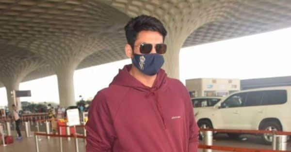 Sidharth Shukla's maroon tracksuit is proof of his non-exorbitant lifestyle