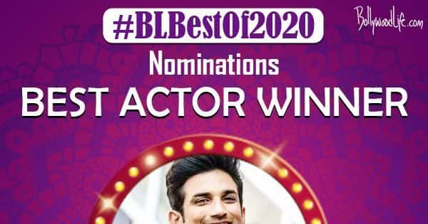 Sushant Singh Rajput BEATS Ajay Devgn and Amitabh Bachchan by a huge margin to be declared the Best Actor of the year