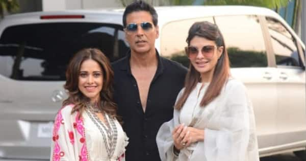Here's how Ram Setu stars Akshay Kumar, Nushrratt Bharuccha are spending their time apart